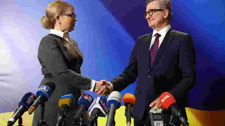 У партії Сергія Тарути заявили, що йдуть на вибори разом із «Батьківщиною»