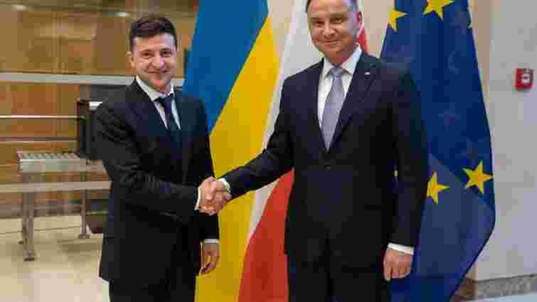 Зеленський заявив, що налаштований на примирення з Польщею