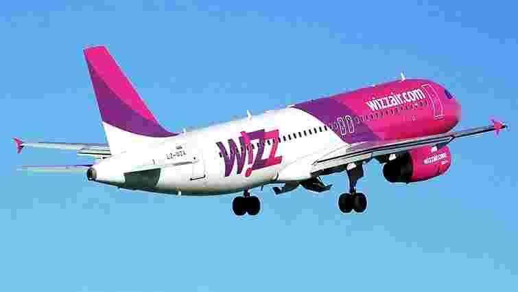 Wizz Air майже вдвічі збільшить частоту рейсів на п'яти найпопулярніших напрямках зі Львова