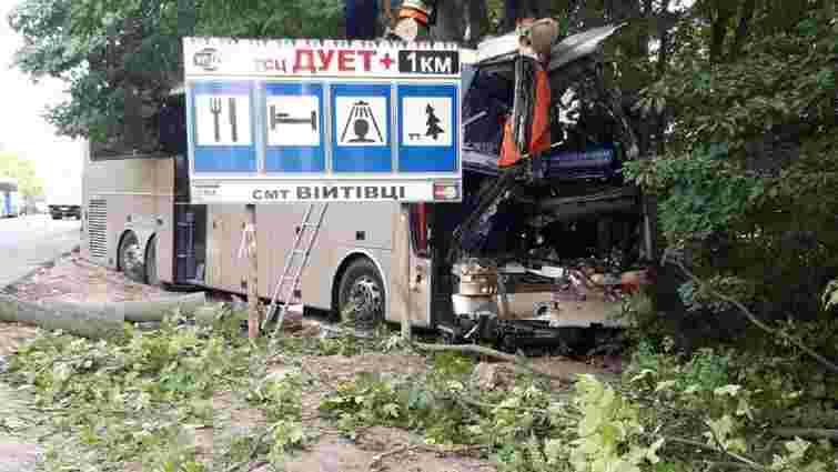 На Хмельниччині автобус Неаполь-Херсон зіткнувся із тягачем