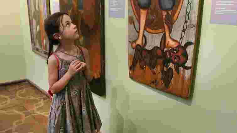 У Львівській галереї мистецтв представили масштабний проект «Ангели»