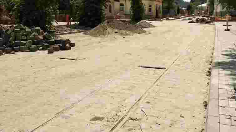 Першу частину відремонтованої вул. Замарстинівської можуть відкрити вже 1 липня