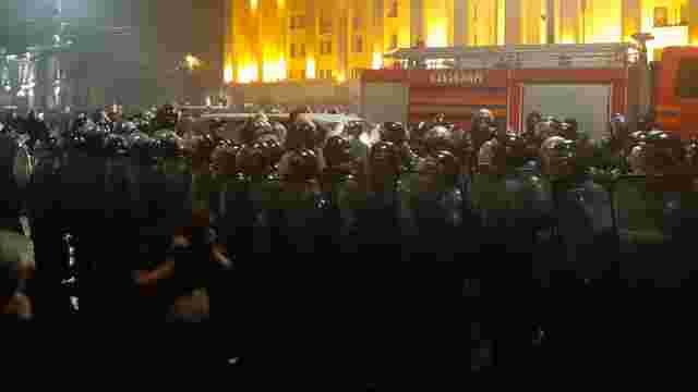 В Грузії під час масових антиросійських протестів постраждали десятки людей