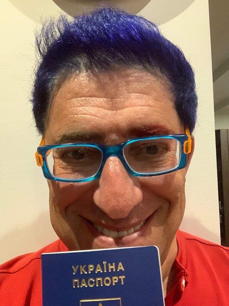 Гарік Корогодський з українським паспортом