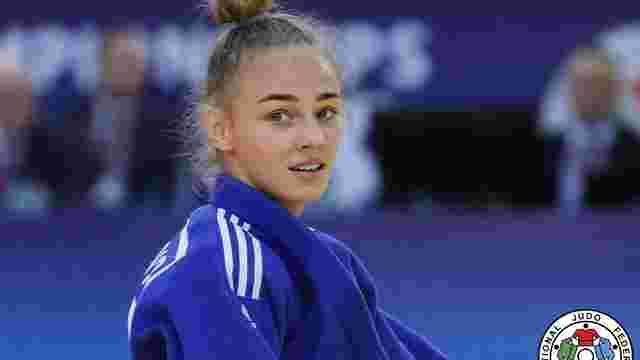 Українка Дарія Білодід стала чемпіонкою Європи з дзюдо