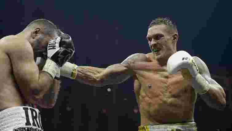 Боксер Олександр Усик став головним претендентом на титул WBO у суперважкій вазі