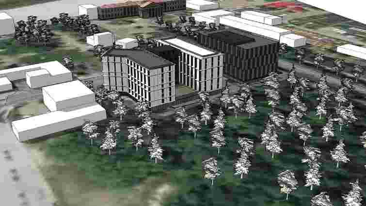 Біля  львівського аеропорту збудують новий готель та офісний центр