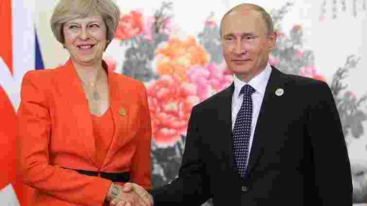 На саміті G20 Мей вимагала від Путіна звільнення полонених моряків і деескалації на Донбасі
