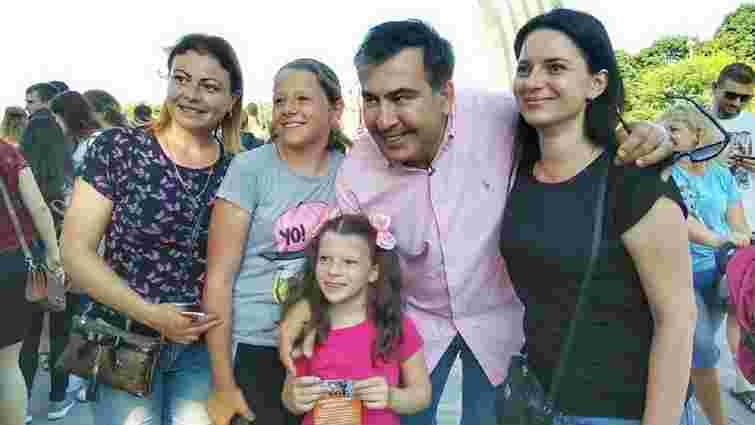 Партію Саакашвілі зареєстрували на виборах до Верховної Ради