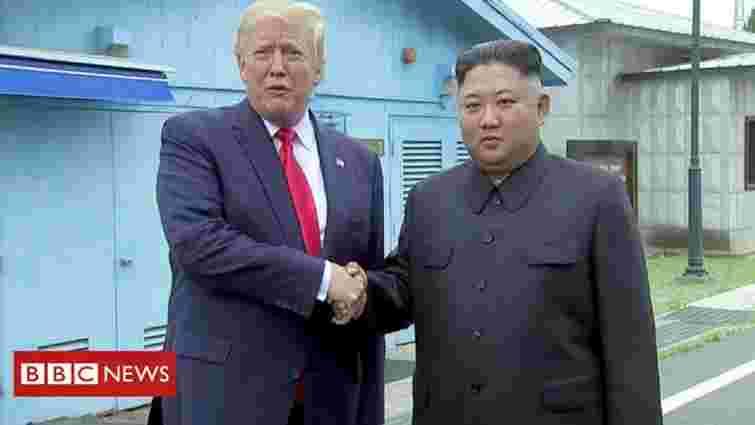 Трамп першим з американських президентів потрапив на територію Північної Кореї