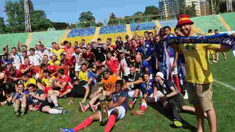 У Львові провели турнір для футбольних фанатів EUROFANZ-2019