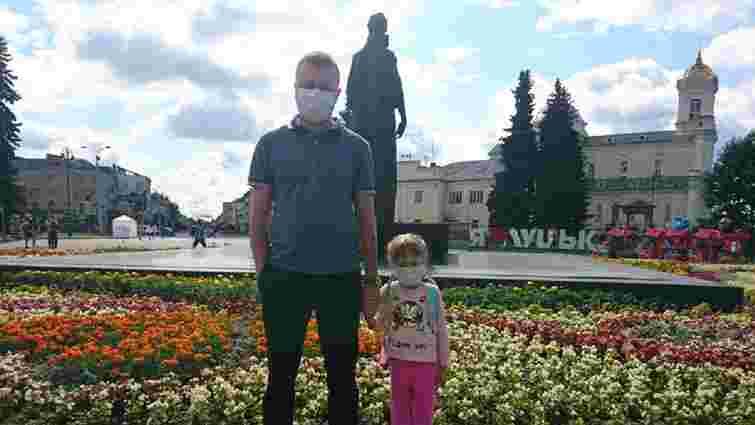 Мешканці Луцька вийшли на протест через сильний сморід у місті