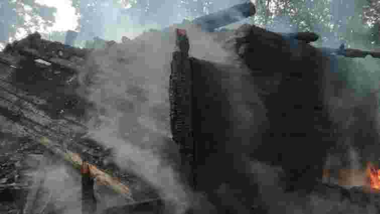 У Старосамбірському районі повністю згорів житловий будинок