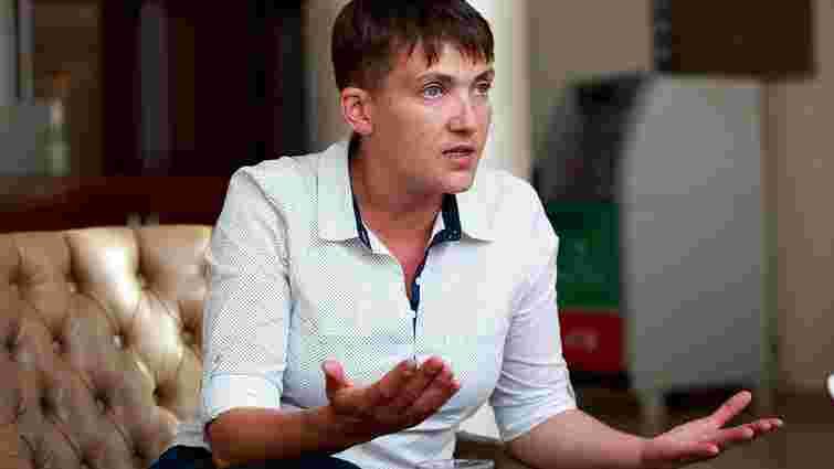 Депутатка Надія Савченко заявила, що поїде агітувати у «ДНР»