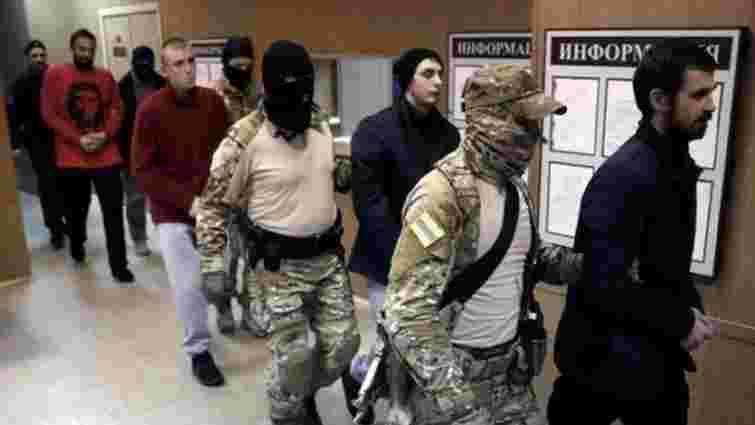 Росія висунула остаточне обвинувачення всім 24 полоненим українським морякам