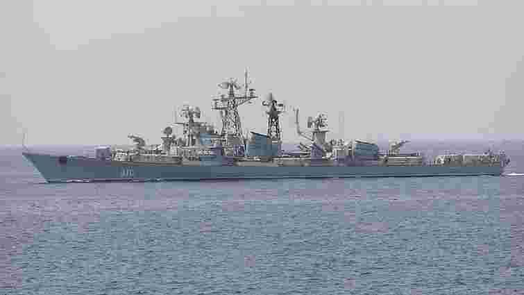 Російський корабель вчинив провокацію на військових навчаннях Sea Brize-2019