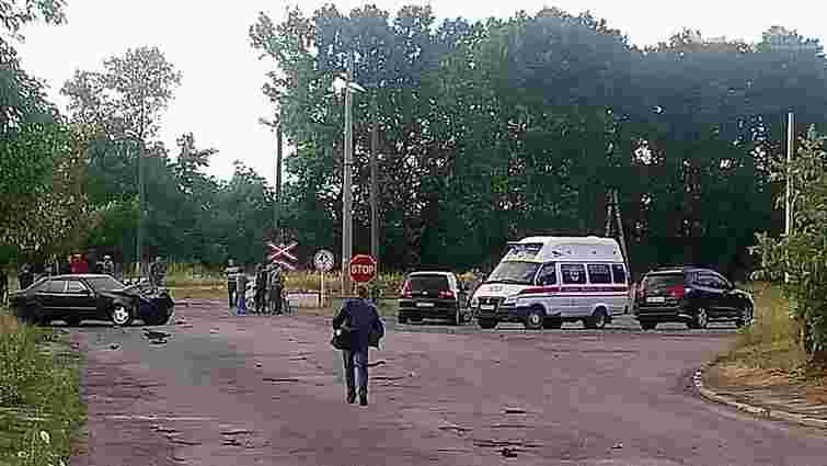 Швидкісний поїзд Інтерсіті «Київ-Львів» зіткнувся з автомобілем