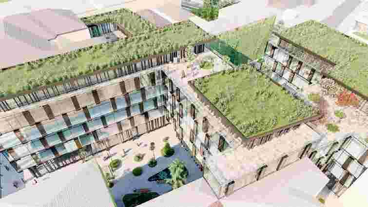 Львівська мерія погодила будівництво 6-поверхового готелю біля ТРЦ Forum Lviv