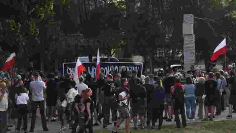У Вроцлаві місцева влада перервала марш націоналістів через антиукраїнські гасла