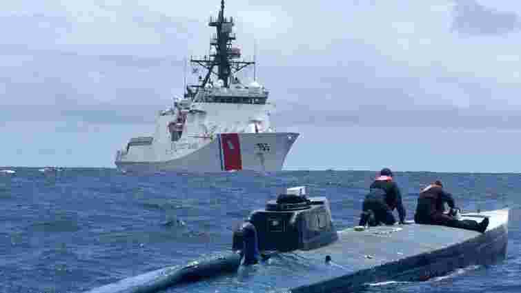 Берегова охорона США затримала субмарину із 7 тоннами кокаїну на борту