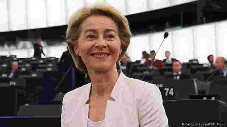 Єврокомісію вперше в історії очолила жінка