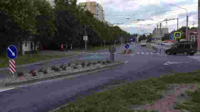 Перехрестя вулиць Тролейбусна-Рубчака відремонтували зі зміною організації руху