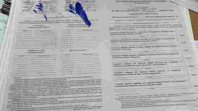 Поліція вже зафіксувала першу спробу фальсифікації виборів у Раду