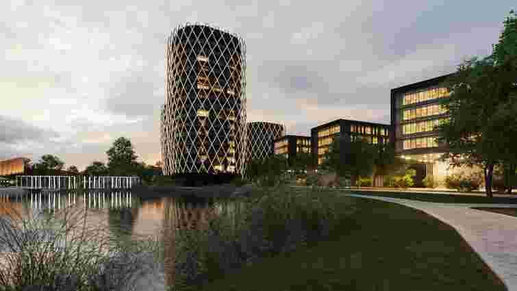На перехресті Стрийська-Наукова збудують два готелі та спорткомплекс з видом на озеро