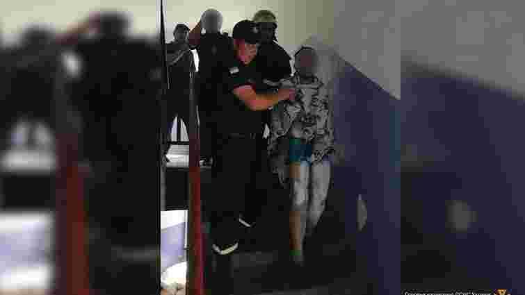 Внаслідок пожежі у червоноградському гуртожитку хлопець отримав опіки