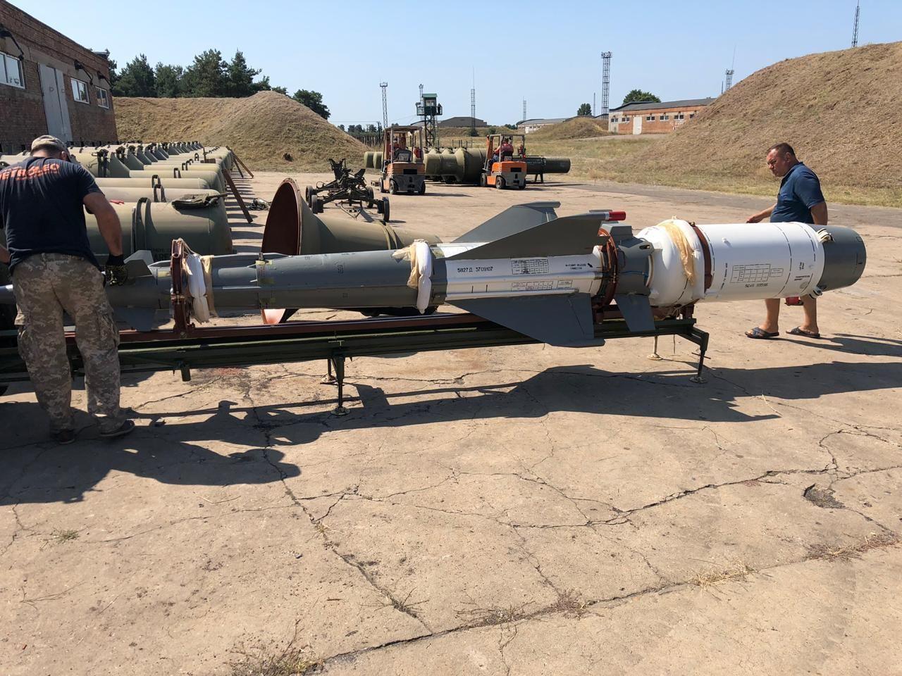 Ракети до ЗРК