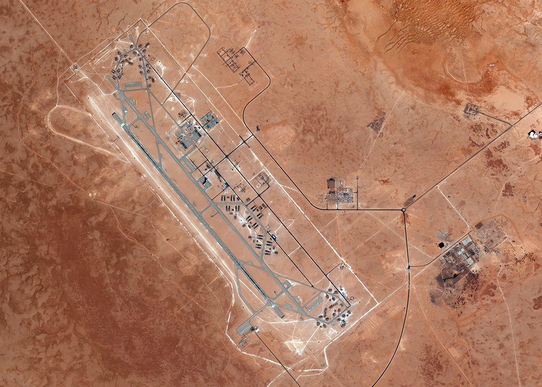 Авіабаза в Аль-Джуфра