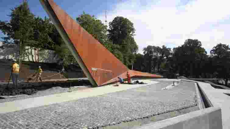 До Дня Незалежності у Львові відкриють частину меморіалу Героям Небесної сотні