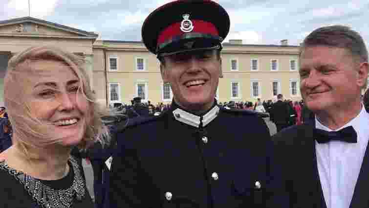 Львівський кадет став найкращим іноземним випускником британської Академії сухопутних військ