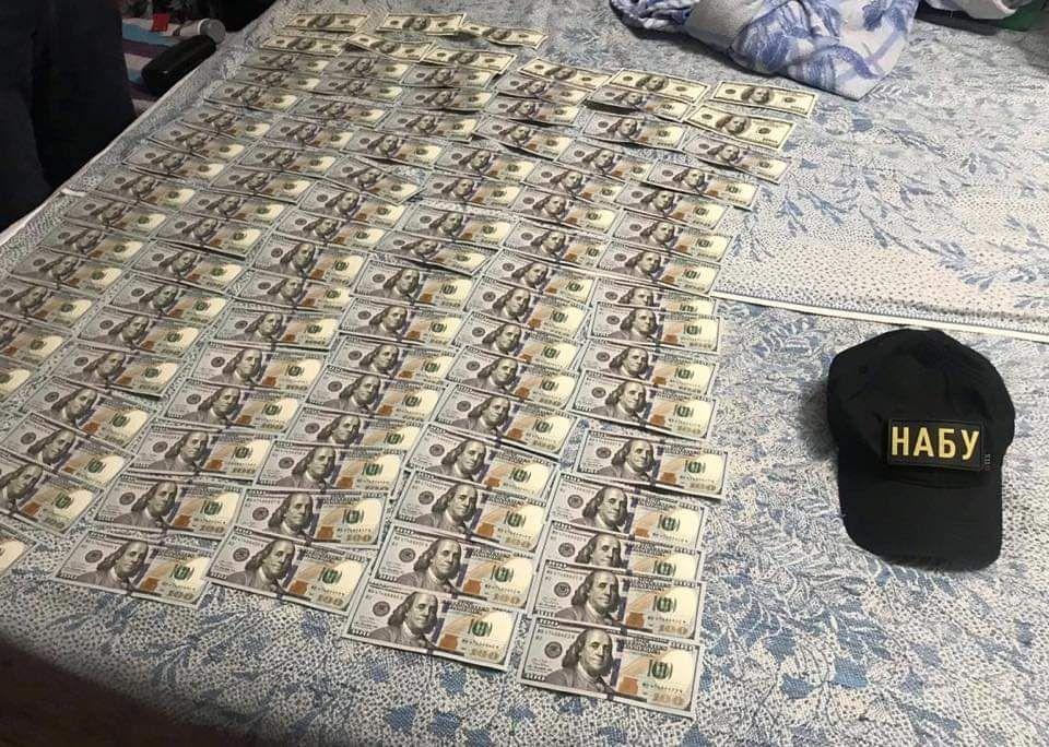 НАБУ показало вилучені в Гримчака і його спільника гроші