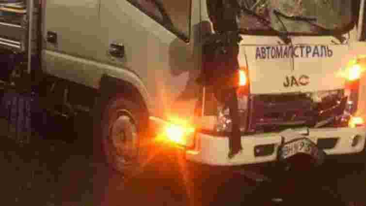 На «зебрі» у Сокільниках вантажівка збила на смерть пішохода