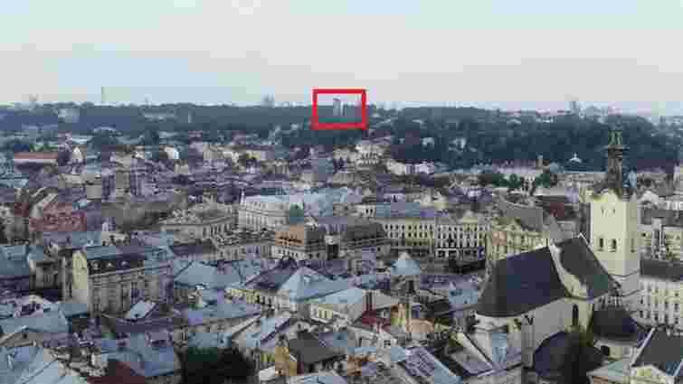 Проект будівництва висотного готелю у Львові опинився під загрозою зриву