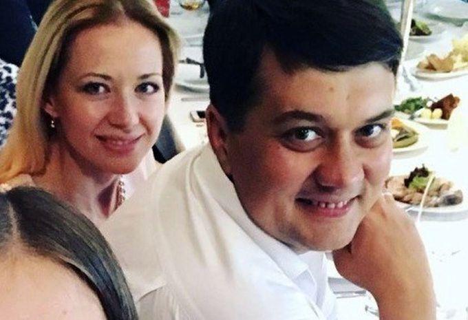 Дмитро Разумков з дружиною