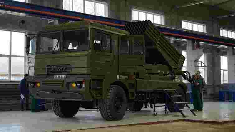 В Україні випробували нову систему залпового вогню «Берест»