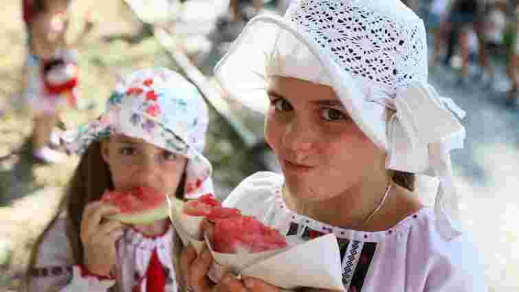 У львівському Парку культури організували сімейний «Кавуновий фестиваль»