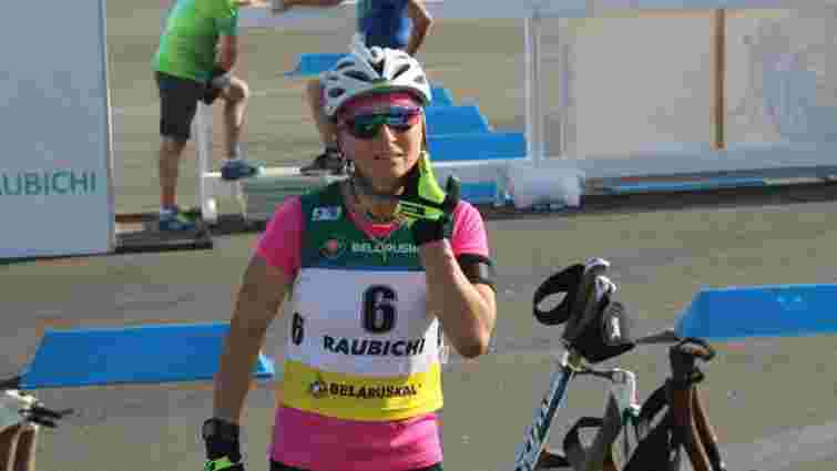 Українка стала бронзовою призеркою чемпіонату світу з літнього біатлону