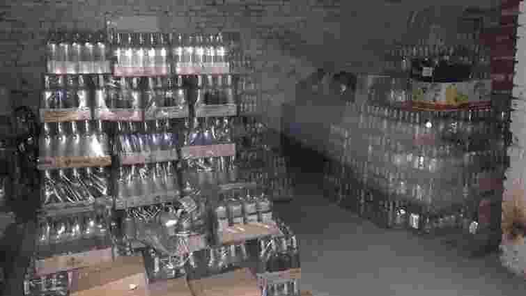 На Львівщині ліквідували мережу підпільного виробництва алкоголю