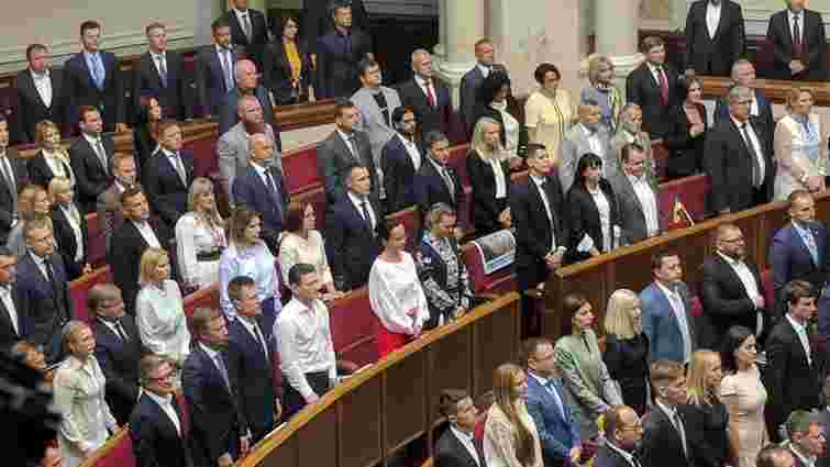 Депутати нової Верховної Ради склали присягу