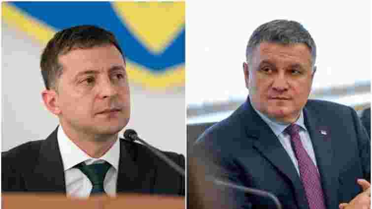 Зеленський просить Верховну Раду вивести Нацгвардію з підпорядкування Авакова