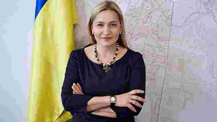 Оксана Юринець відмовилась звільнити приміщення громадської приймальні у центрі Львова