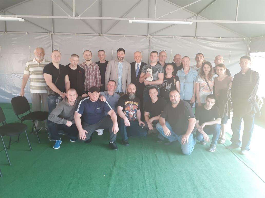 Громадяни, яких Україна видала РФ, в аеропорту «Бориспіль»