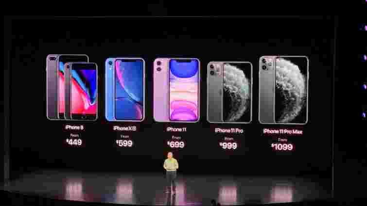 Apple презентувала нові iPhone 11, iPad 7 та Apple Watch Series 5