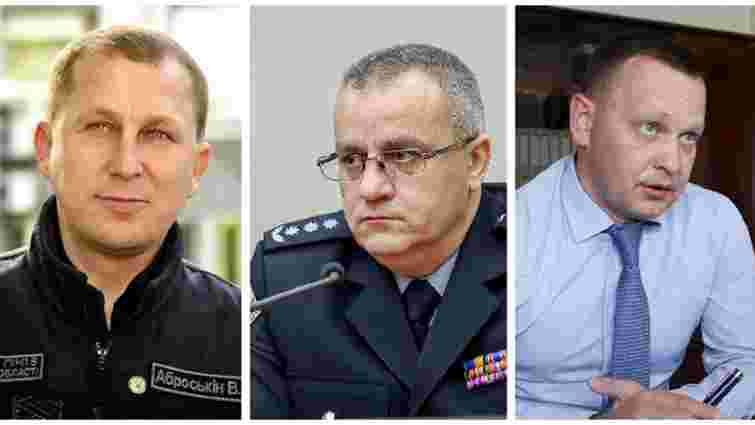 Голова Національної поліції звільнив трьох своїх заступників