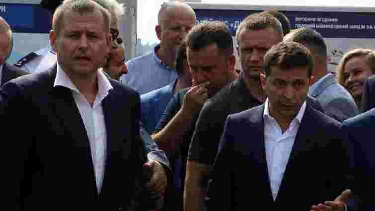 Володимир Зеленський відмовився визнати перемогу мера Дніпра у парі щодо мосту