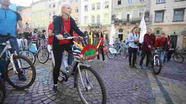 Львів'ян закликають взяти участь у щорічній акції «Велосипедом на роботу»