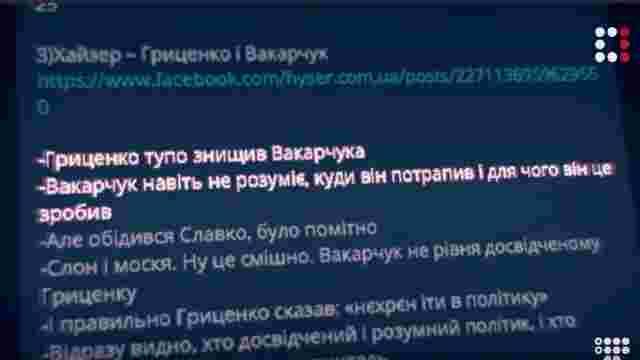 Заблокована Facebook «ботоферма» на виборах працювала на користь Гриценка та Вакарчука